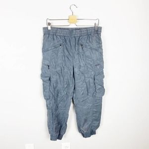 Blank NYC High Rise Gray Utility Joggers